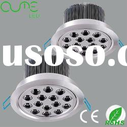 100~240v indoor recessed led ceiling light 15w