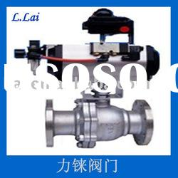 2PC Stainless Steel Ball Valve Flange Ends