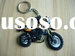 3d pvc keychain, rubber keyring