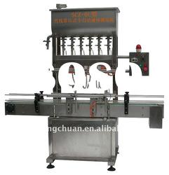 6-head Automatic small production bottle water filling machine