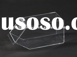 Acrylic Bulk Food Box/Lucite Plexiglass Custom Bulk Food Dispenser