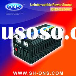 Car power inverter UPS 2500W with charger dc to ac