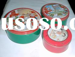 Christmas tin box, Biscuit and Cookies tin box