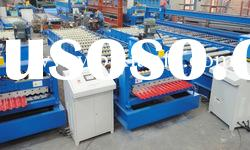 Colored steel roof panel roll forming machine XF18-76-988