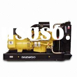 Doosan Diesel Generator Set with Power Range of 70 to 560kW and 50/60Hz Rated Frequency