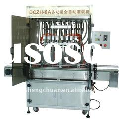 Eight-head automatic linear piston pet bottle water filling machine