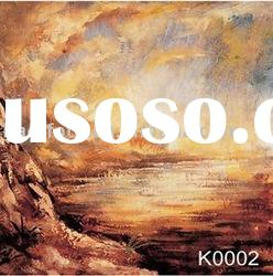 Hand painted scenic backdrop series-K0002