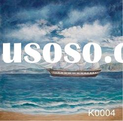 Hand painted scenic backdrop series-K0004