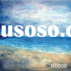 Hand painted scenic backdrop series-K0006