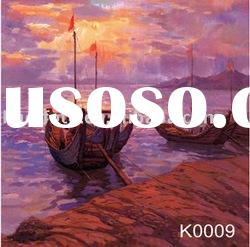 Hand painted scenic backdrop series-K0009