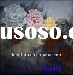 Hand painted scenic backdrop series K09428