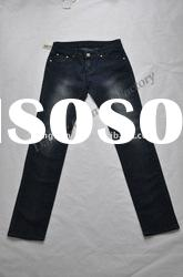 Latest fashion women jeans with nice embroiders