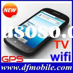 MTK 6513 Capacitive Screen TV WIFI GPS Android Phone A800