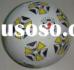 Rubber soccer ball with good quality