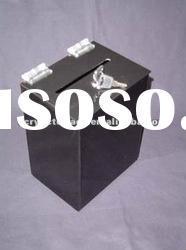 Standard Black Acrylic Bollot Box With Lock and Key