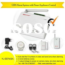 Wireless chinese cheapest home retail GSM sms security products OEM ODM service Alarm System