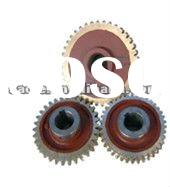 Worm gear-tower crane spare parts