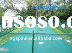 green color child safety swimming pool fence
