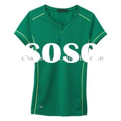 hot sale !! high quality low price short sleeve fashionable women's t-shirts