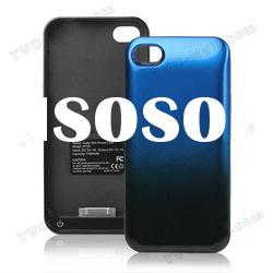 1500mAh Super Slim External Power Battery Charger Case for iPhone 4 / 4S