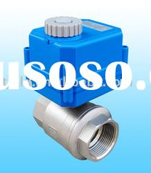 KLD100 small 2-way Motorised Ball Valve for automatic control