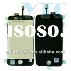 LCD Display Touch Screen digitazer glass Assembly for ipod 4