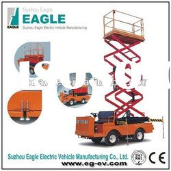 electric industrial utility car(EG6060J,Max.Lifting Height:6m,48V/3KW Series)
