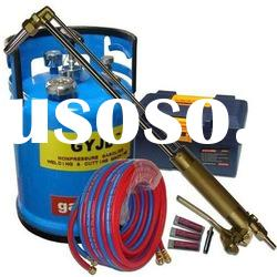 oxygen gasoline cutting torch package cutting 3-300mm steel