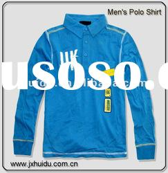 2012 Fashion Long sleeve polo shirt