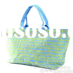 2012 promotional canvas shopping tote bag(K-00074)