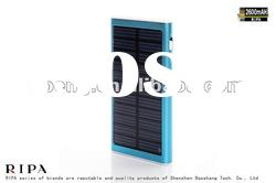 2600MAH High Capacity Solar Charger For Mobiles