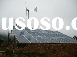 3KW Horizontal Axis permanent magenent Wind power system hybrid power system