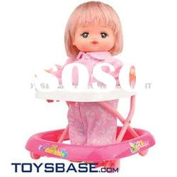 Emulational and cute design baby doll stroller car seat