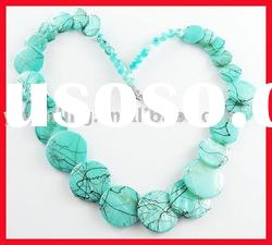 Fashion acrylic beads necklace//imitation resin necklace