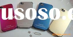 Fashion case factory mobile phone case Cross-line mc-1 metal case for iphone4
