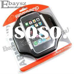 Free shipping Sports Armband Case Cover For iPhone 4 4G 3G 3GS Touch IP-127 Wholesale/Retail