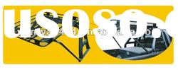 Heavy Duty Black Powder Coated Steel Roof Rack with Sport Bar/Roll Bar for Toyota Hilux Vigo