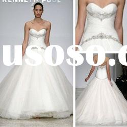 WD5678 Sweetheart Court Train Tulle Wedding Gown 2012