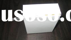 hot product modern custom white paper jewelry boxes for earrings only made in china QL-86