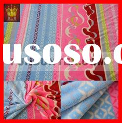 100% polyester microfiber velsoft quilt fabric