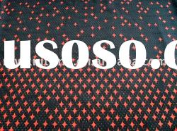 100% polyester printed tricot mesh fabric for lining