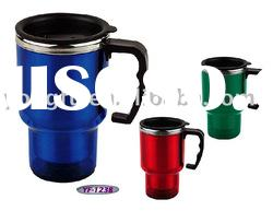 16oz/ 450ml double wall thermo mug with stainless steel inner
