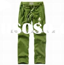 2012 Wholesale Hot name branded Men's cotton knitted sport Pants