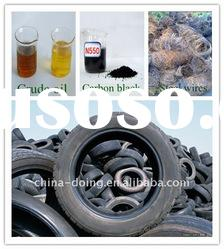 5/6/8/10 tons waste rubber/tire/plastic pyrolysis plant with CE certificate