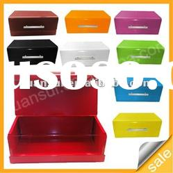8 color stainless steel small size bread bin