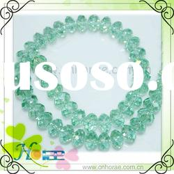 8mm mixed color faceted crystal glass beads