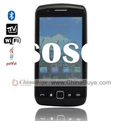 9860 Dual SIM Dual Standby 3.3 inch Touch Screen Bluetooth WIFI TV Mobile Phone
