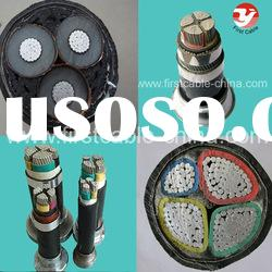 Aluminum Conductor XLPE/ PVC Insulated Electric Power Cable