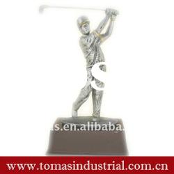 Fashion golf metal custom action figure collectible toys