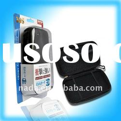 For 3DS hard bag without interlining with packing(black,white,red,pink)